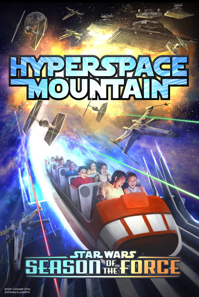 Season of the Force - Hyperspace Mountain