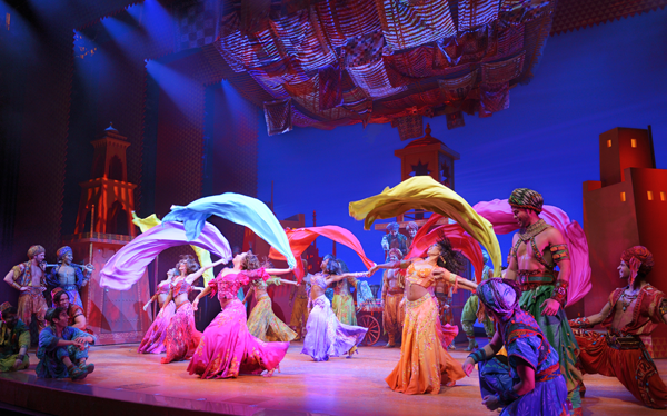 "Disney's Aladdin ""Arabian Nights"" Photo by Deen Van Meer"