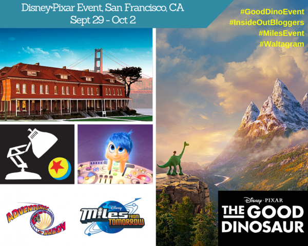 Disney•Pixar San Francisco Event