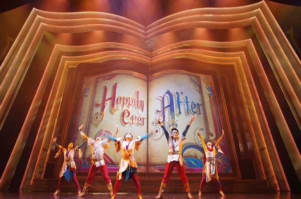Mickey and the Wondrous Book Opening Act HKDL