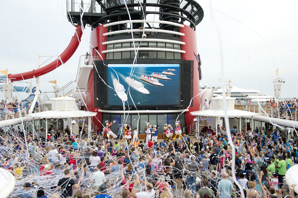 Disney Cruise Line Celebrates New Ship Announcements