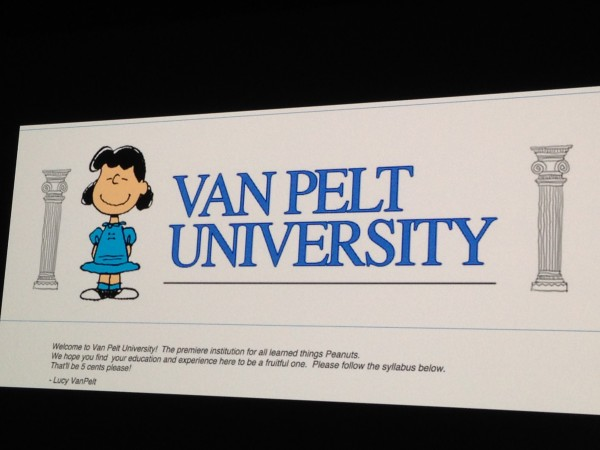Van Pelt University - Where Animators go (Pea)Nuts