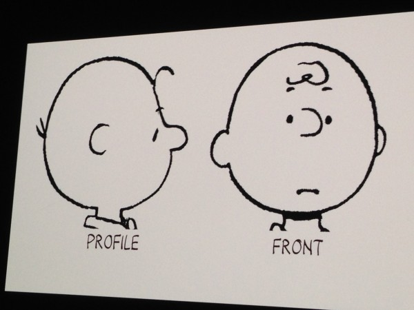 Charlie Brown's Different Face Shapes