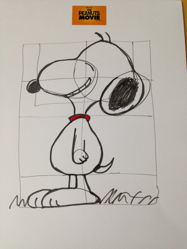 My Snoopy Drawing