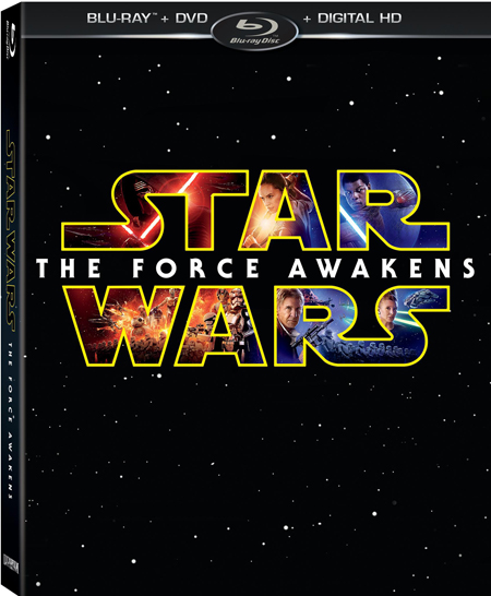 Star Wars The Force Awakens Blu Ray Cover