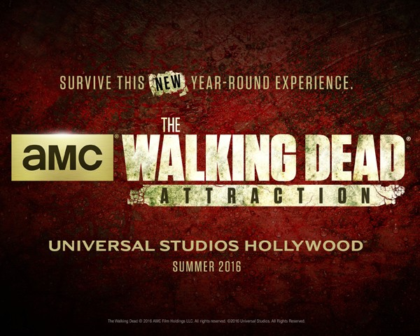 The Walking Dead attraction at USH
