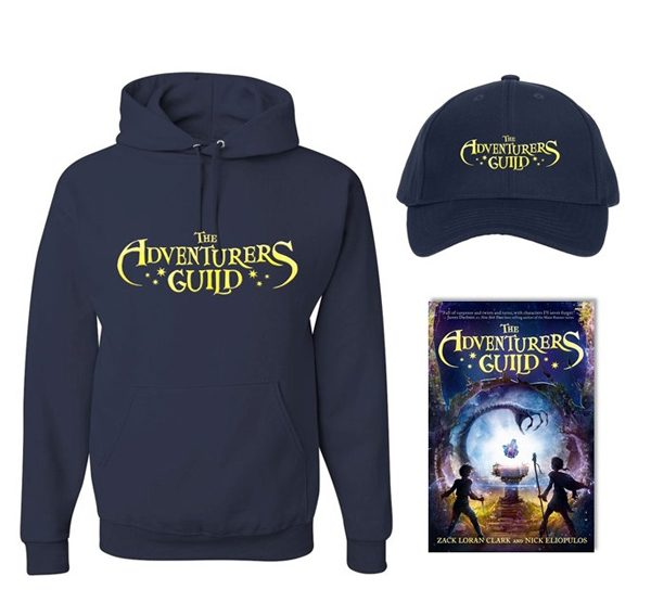 THE ADVENTURERS GUILD prize pack